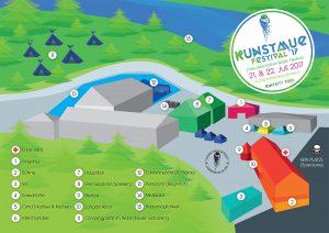 Venueplan Kunstmue Festival 2017