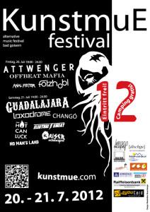 Kunstmue Festival Bad Goisern Flyer 2012 (JPG)