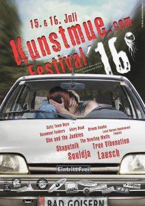 Kunstmue Festival 2016 offizielles Plakat