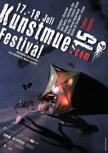 Kunstmue Festival 2015 offizielles Plakat