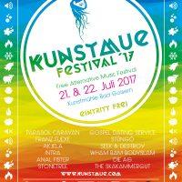 Kunstmue Festival 2017 offizielles Plakat